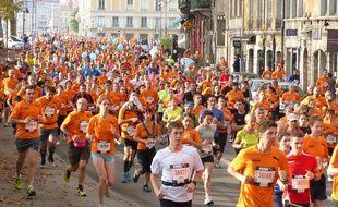 Le 5 octobre, Lyon. Près de 25 000 coureurs ont participé ce dimanche au Run in Lyon, 10 km, semi-marathon et marathon organisé dans les rues de Lyon.