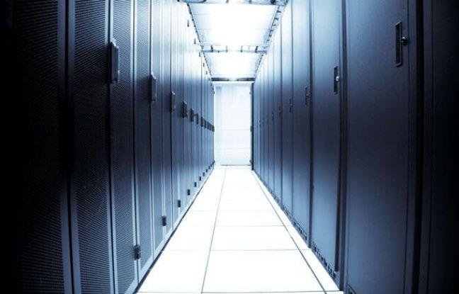 L'intérieur d'un datacenter.