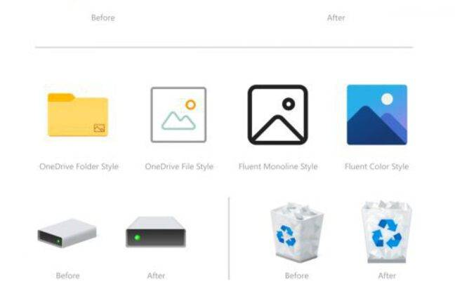 Voici les nouvelles icônes de Windows à mémoriser