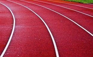 Une piste d'athlétisme (photo d'illustration).