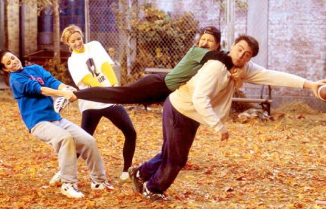 «Friends», saison 3, «The One With the Football»