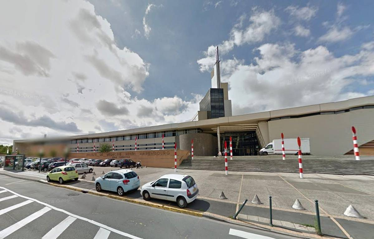 L'université de médecine de Lille. – Google Maps