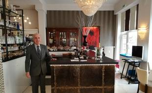 Mossab Boualem est le patron du Sheherazade où est venu manger Florian Philippot à Strasbourg, jeudi 14 septembre.