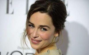 L'actrice Emilia Clarke, à Los Angeles, le 21 octobre 2013.