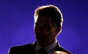 Rick Perry, lors d'un débat entre les candidats à l'investiture républicaine, le 9 novembre 2011.