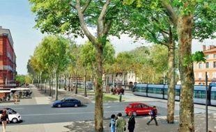 La commission demande d'avancer le terminus au Palais de Justice et de ne pas pousser jusqu'au Grand-Rond.
