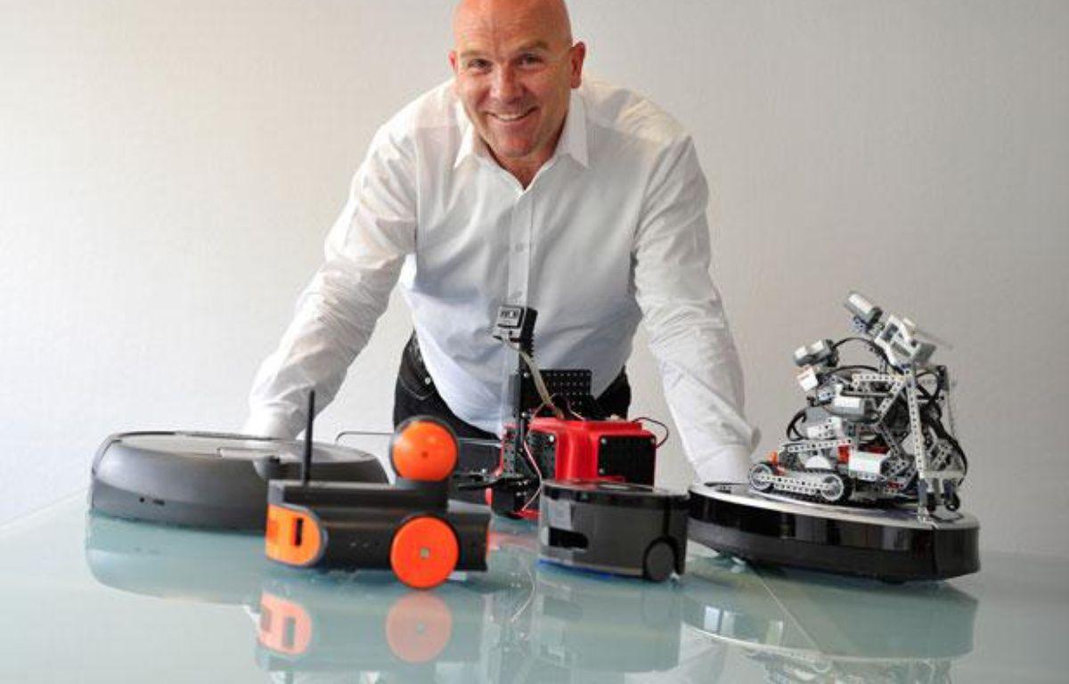 Bruno Bonnel, PDG de Robopolis  – DR