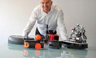 Bruno Bonnel, PDG de Robopolis