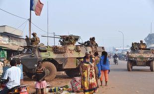 Des soldats français de l'opération Sangaris, en Centrafrique