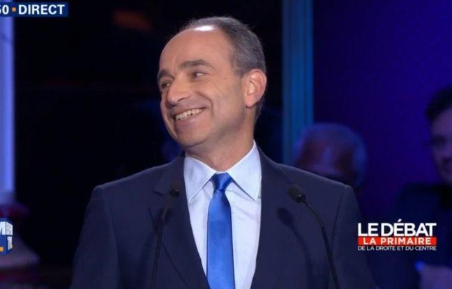 Jean-François Copé lors du 2e débat de la primaire.