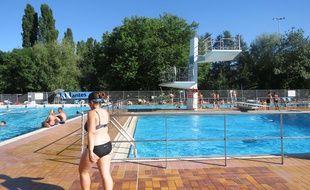 La piscine des Dervallières en juin 2015.