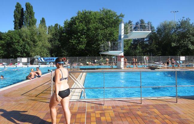 Nantes: La piscine en plein air restera fermée cet été