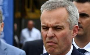 François de Rugy à Niort, le 11 juillet 2019. GEORGES GOBET / AFP