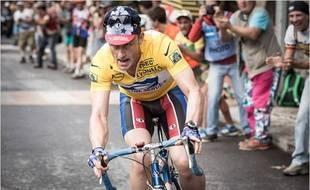 Ben Foster dans la peau de Lance Armstrong pour The Program de Stephen Frears