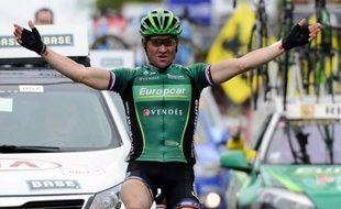 Thomas Voeckler, qui souffre d'une inflammation au genou droit, a déclaré officiellement forfait pour le Championnat de France dimanche prochain à Saint-Amand-les-Eaux (Nord), a annoncé lundi son équipe Europcar.