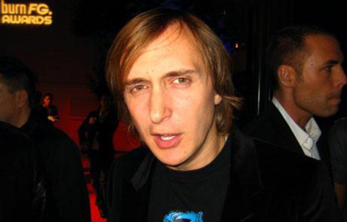 David Guetta 16 Octobre 2007 au Bobin'O – Cédric Couvez