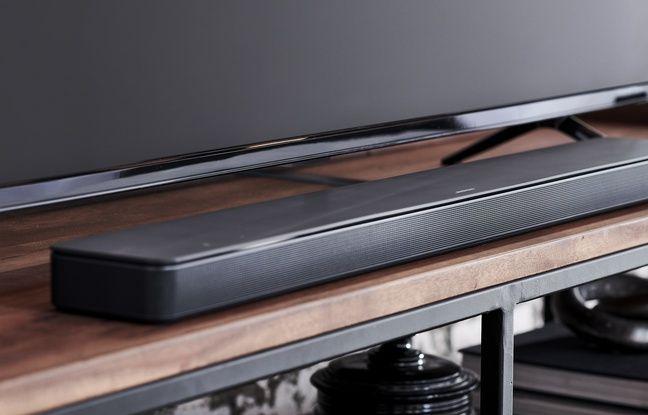 Esthétisme de rigueur pour la Soundbar 500 de Bose.