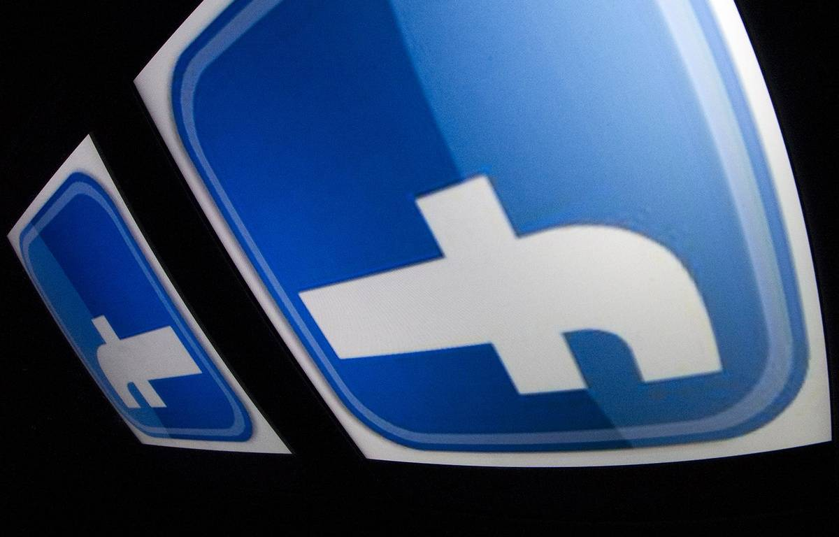 Le logo de Facebook. – LIONEL BONAVENTURE / AFP