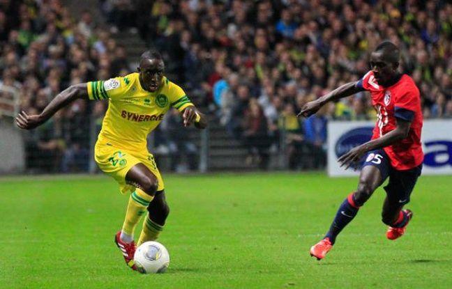 Issa Cissokho, le défenseur du FCN, contre Lille