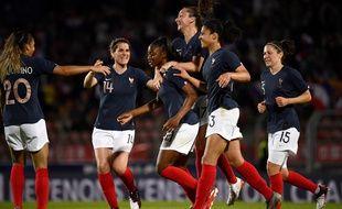 Kadidiatou Diani a inscrit un but splendide contre la Chine à Créteil.