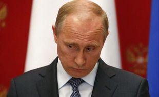 Le président russe, Vladimir Poutine, le 7 mai 2014.