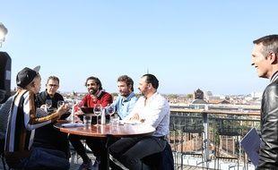 Un jury final un peu particulier sur la terrasse de Ma Biche sur le Toît.