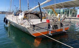 Le bateau du skipper Sébastien Destremau a été vandalisé à Toulon