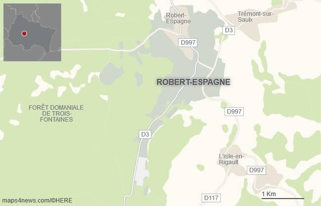 La commune de Robert-Espagne, dans la Meuse.