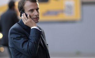 Emmanuel Macron le 3 octobre 2014 à Paris.