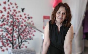 Anne-Marie Laurent, créatrice de l'association Sos Féeminité qui aide les femmes à se reconstruire après ou pendant un cancer près de Lyon.