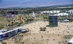 (Illustration) Des festivaliers arrivent au Festival Coachella quelques minutes après l'ouverture des portes de l'Empire Polo Club, le dimanche 21 avril 2019 à Indio, en Californie.