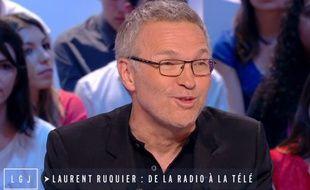 Laurent Ruquier mercredi 15 avril au Grand Journal