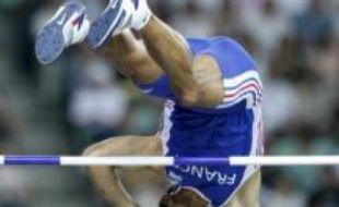 A la perche, Romain Mesnil a décroché l'argent aux Mondiaux d'Osaka.