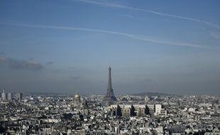 Episode de pollution à Paris (image d'illustration).