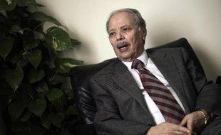 Ahmed Ben Helli,secrétaire-général adjoint de la Ligue arabe le 24 mars 2012 au Caire