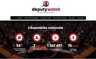Deputy Watch passe au crible le passé judiciaire des députés de l'Assemblée Nationale.