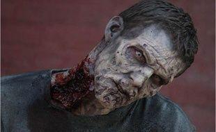 Un zombie de «Walking Dead»