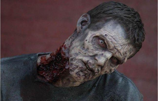 Un zombie de Walking Dead