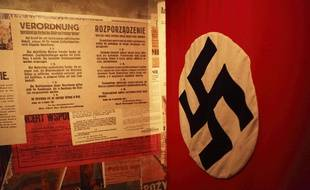 Un drapeau nazi (photo d'illustration)