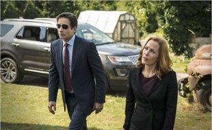 Fox Mulder et Dana Scully (David Duchovny et Gillian Anderson) dans la dixième saison de «X Files».