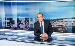 Jean-Pierre Pernaut, présentateur du JT de 13h sur TF1
