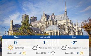 Météo Reims: Prévisions du vendredi 15 janvier 2021