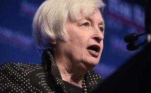La présidente de la Réserve fédérale américaine (Fed) Janet Yellen, le 2 décembre 2015 à Washington