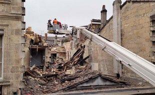 Une explosion vraisemblablement due au gaz a eu lieu dans la ville de Bordeaux samedi 5 février 2021.