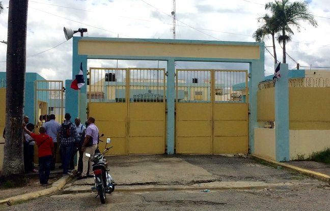 La prison de Najayo où Christophe Naudin est détenu depuis mars 2016.