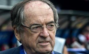 Le président de la FFF Noël Le Graët, le 21 septembre 2019 lors du Trophée des championnes entre l'OL et le PSG à Guingamp.