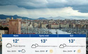 Météo Marseille: Prévisions du jeudi 21 janvier 2021