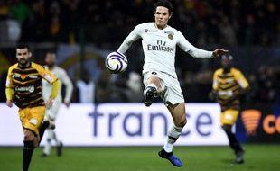 Cavani a inscrit le premier but parisien.