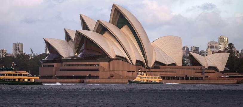 L'opéra de Sydney en juillet 2020 (illustration)