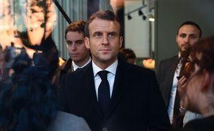 Emmanuel Macron en Picardie, le 21 novembre 2019.